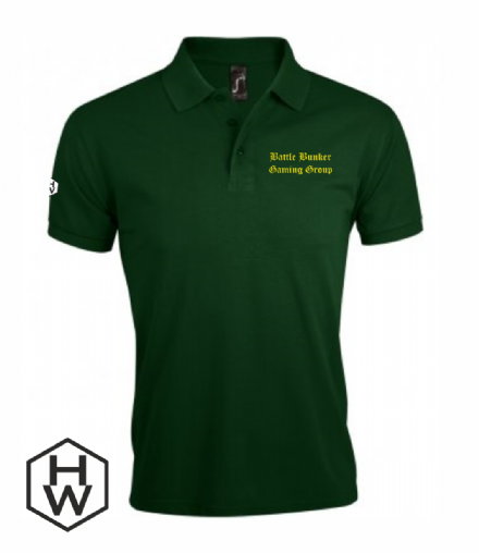 Battle Bunker Gaming Group Unisex Polo Shirt